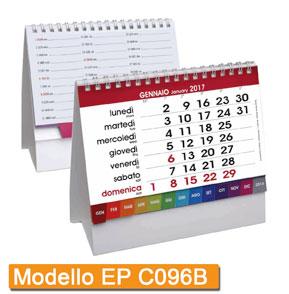 Calendari da tavolo e scrivania 2017 illustrati eurografic - Calendario 2017 da tavolo ...