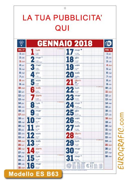 Calendario Per Appunti.Calendari Olandesi 2018 Personalizzati Promozionali Eurografic