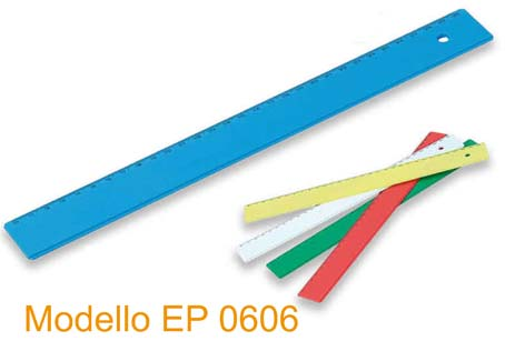 righello plastica ep 0606